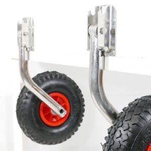 MidMarine EasyFold Launching Wheels