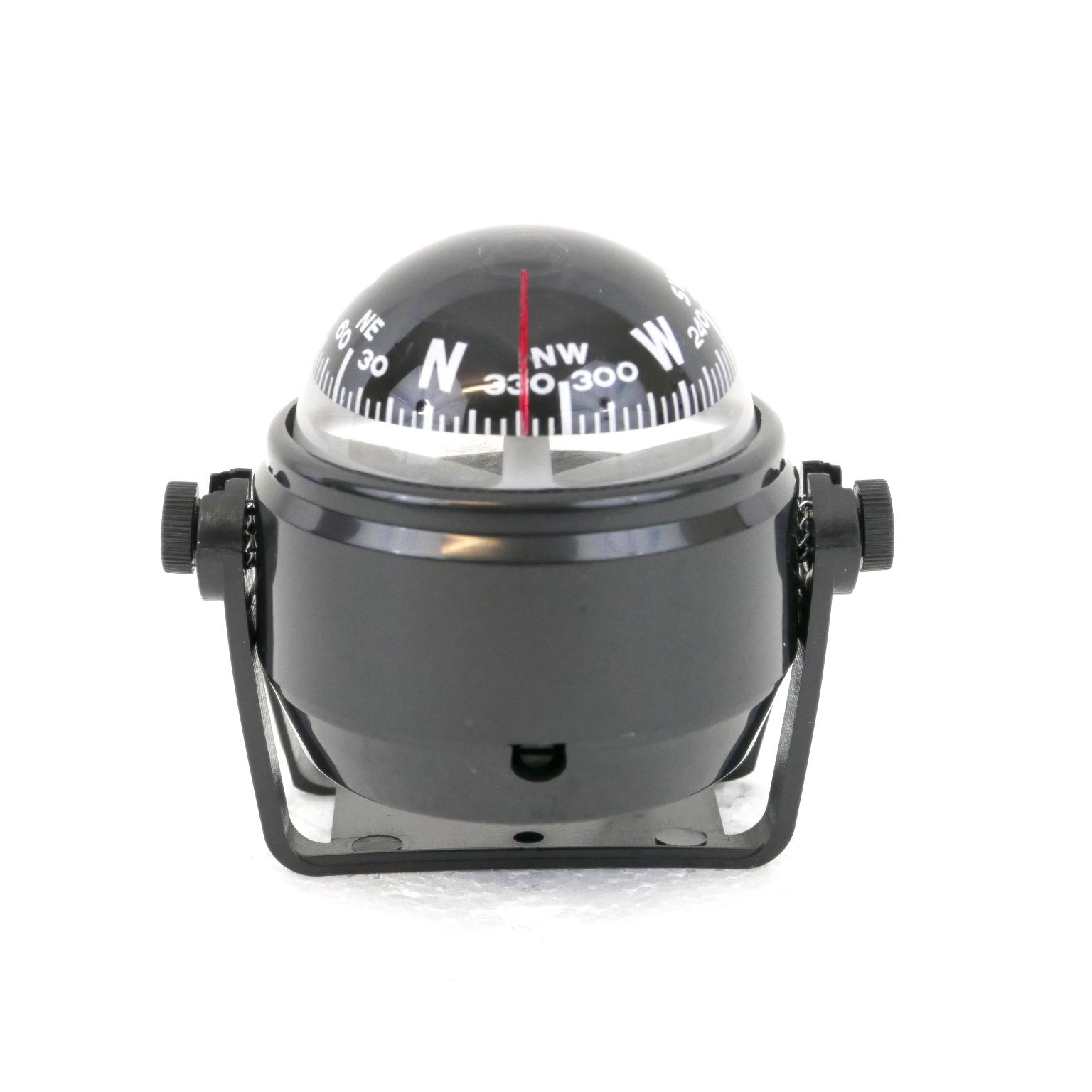 Magnetic Navigation Compass Compact Black Midmarine Com