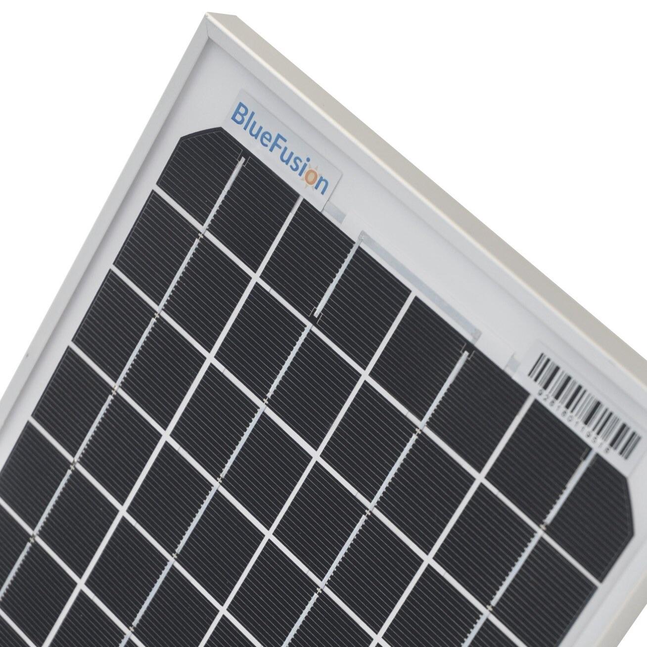 Bluefusion Mono Solar Panels 10w 100w For Grid Tie