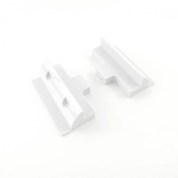 2 side brackets for solar panel