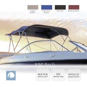 3 Bow Boat Bimini