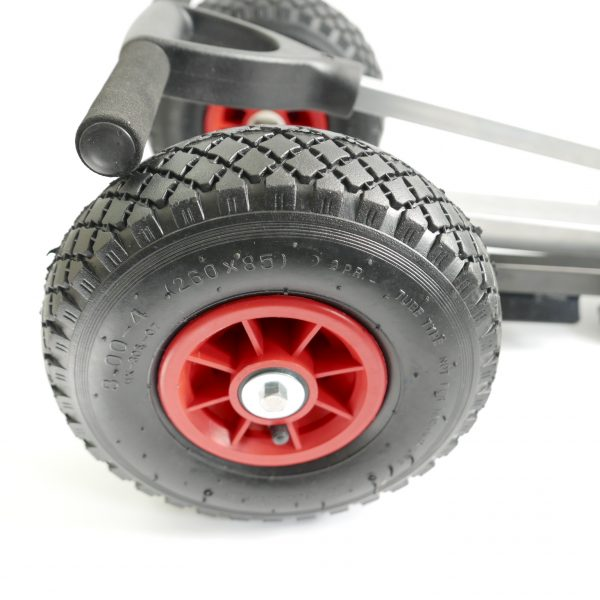 Portable Folding Outboard Trolley - Tyres
