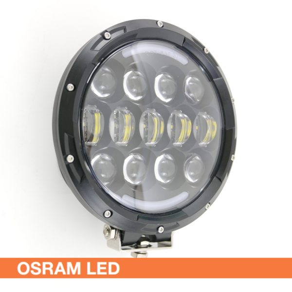 105W LED Rally HGV Off-Road Auxiliary Headlight