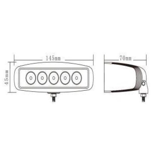 MD1283 15W Worklight Technical