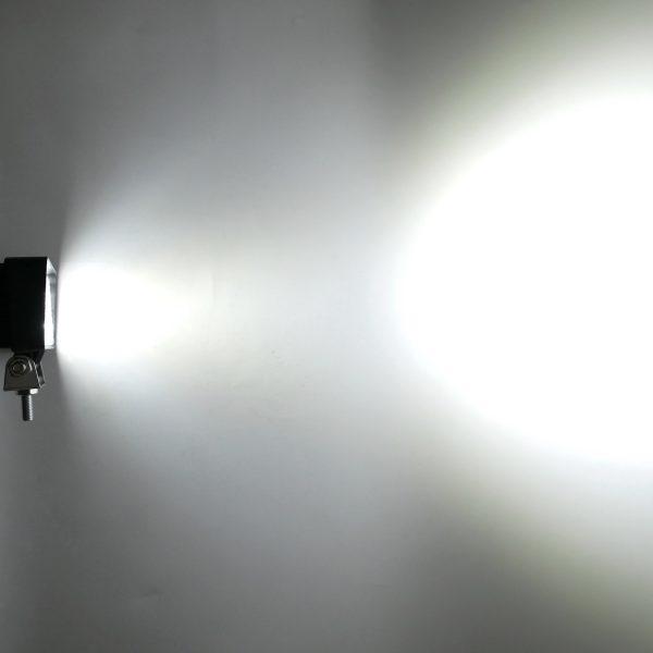 MD1285 18W Worklight Beam Test