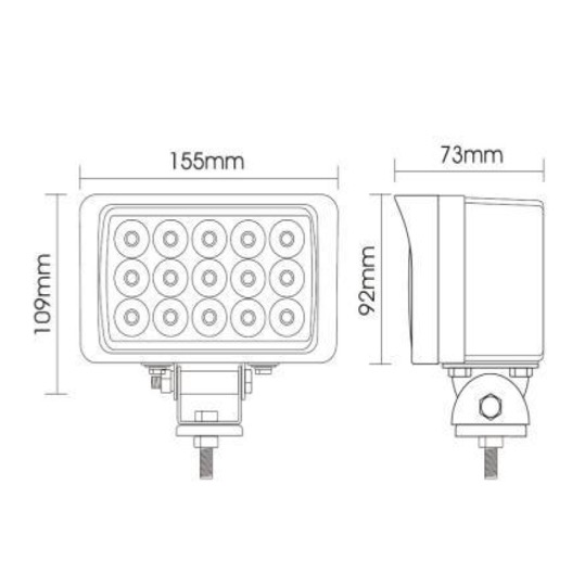 MD1287 45W Worklight Technical