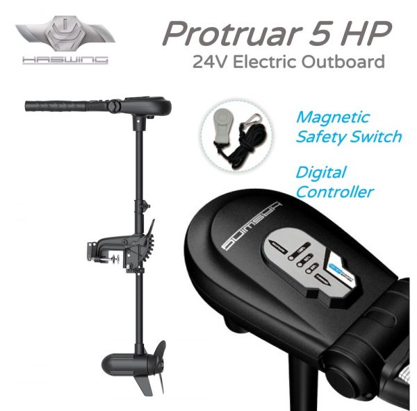 Protruar 5HP Electric Outboard