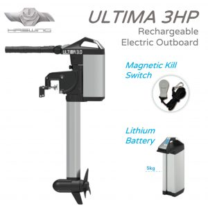 Ultima 3 Outboard with Lithium Battery
