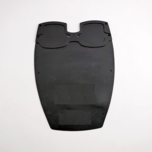 Large Outboard Rubber Transom Pad