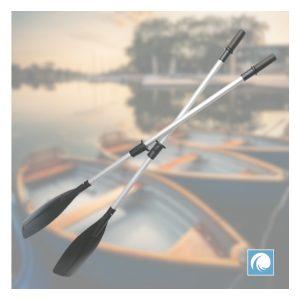 Heavy duty aluminium oars